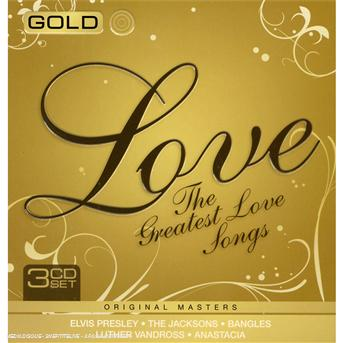CD V/A - Gold - Greatest Love Songs