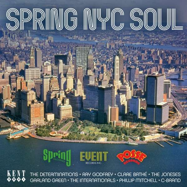 CD V/A - SPRING NYC SOUL