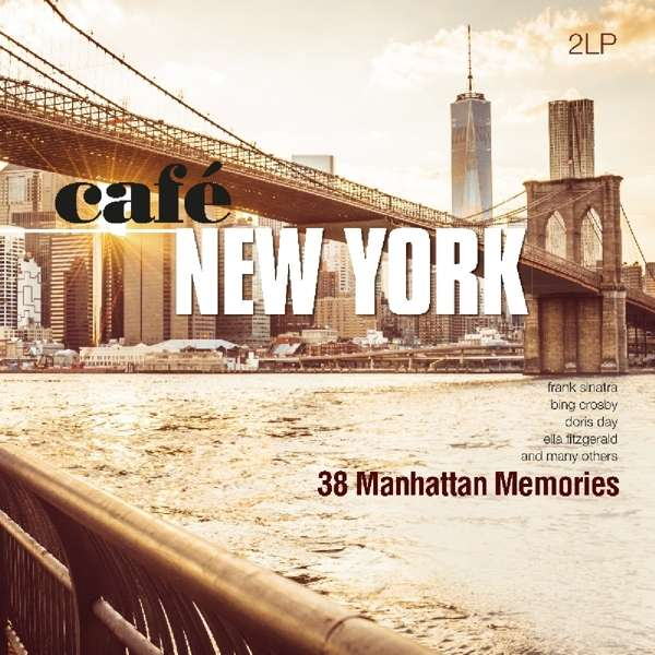Vinyl V/A - CAFE NEW YORK - 38 MANHATTAN MEMORIES