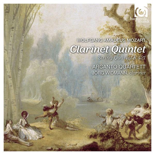 CD MOZART, W.A. - CLARINET QUINTET/STRING QUARTET K421