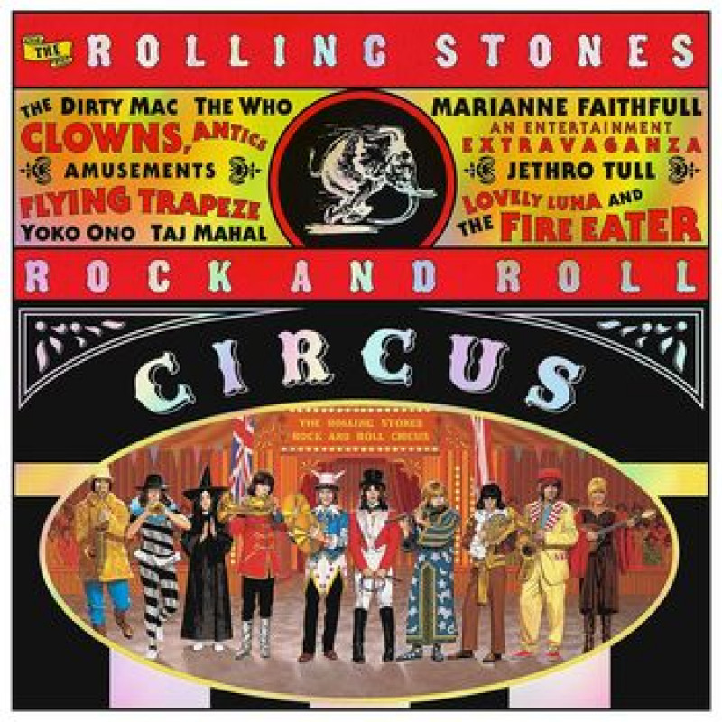 CD RUZNI/POP INTL - THE ROLLING STONES ROCK AND ROLL CIRCUS