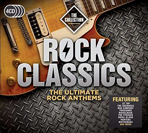 CD VARIOUS ARTISTS - ROCK CLASSICS - THE COLLECTION