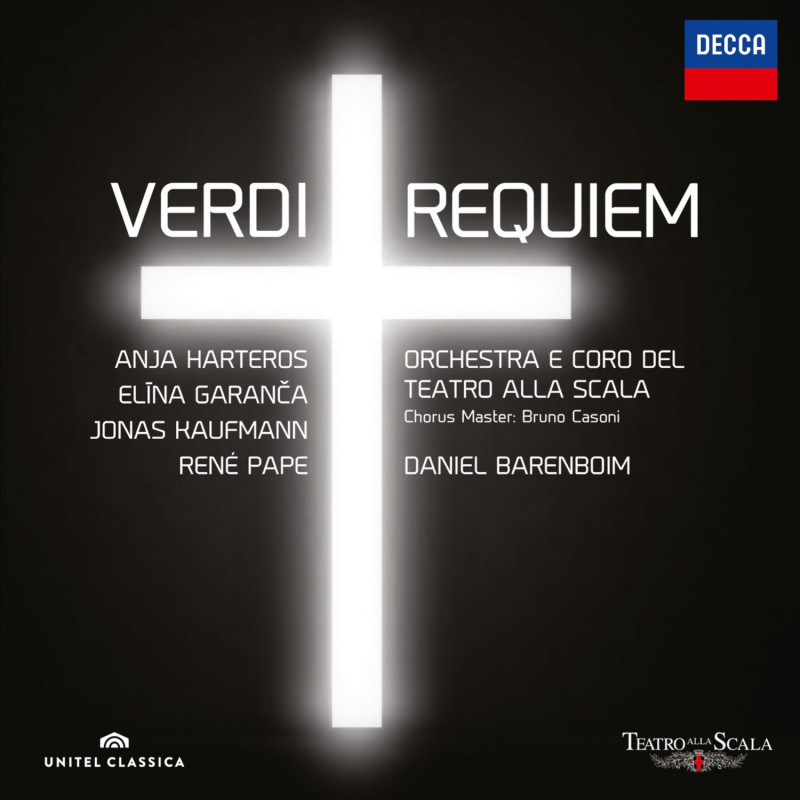 CD KAUFMANN/BARENBOIM/SCALA - Verdi: Requiem