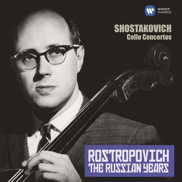 CD ROSTROPOVICH, MSTISLAV/MOSCOW PHILHARMONIC ORCHESTRA/GENNADY ROZHDESTVENSKY/USSR STATE SYMPHONY ORCHESTRA/EVGENY SVETLANOV - THE RUSSIAN YEARS: SHOSTAKOVICH CELLO CONCERTOS