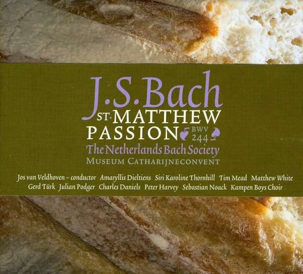 CD BACH, J.S. - ST. MATTHEW-PASSION