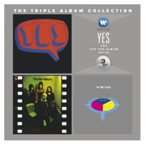 Yes - CD TRIPLE ALBUM COLLECTION