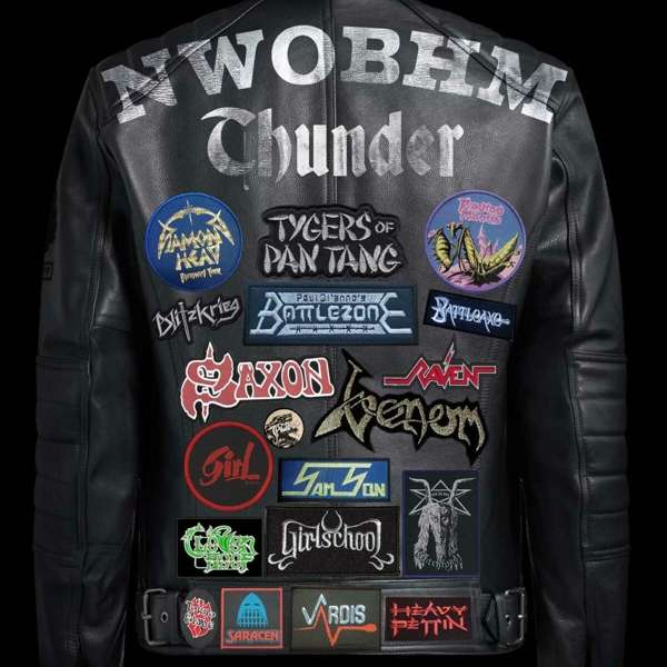 CD V/A - NWOBHM THUNDER: THE NEW WAVE OF BRITISH HEAVY METAL 1978-1986