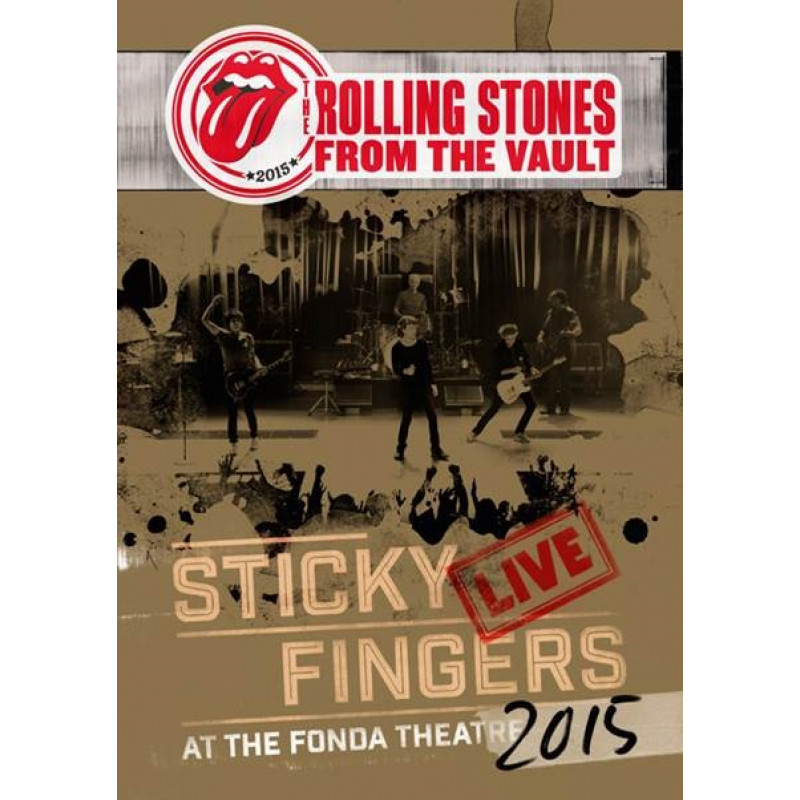 Rolling Stones - DVD STICKY FINGERS LIVE.../CD