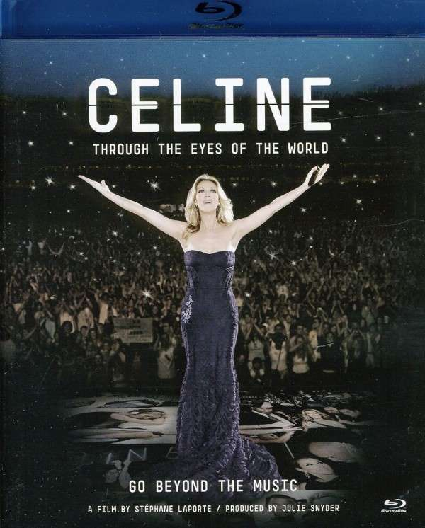 Blu-ray Dion, Celine - Through the Eyes of the World