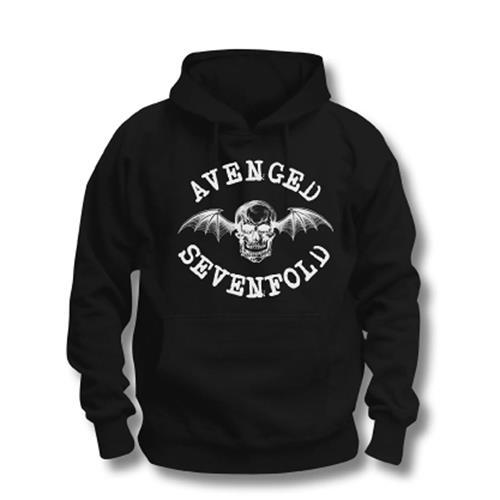Avenged Sevenfold A7X - Mikina Logo - Muž, Unisex, Čierna, M