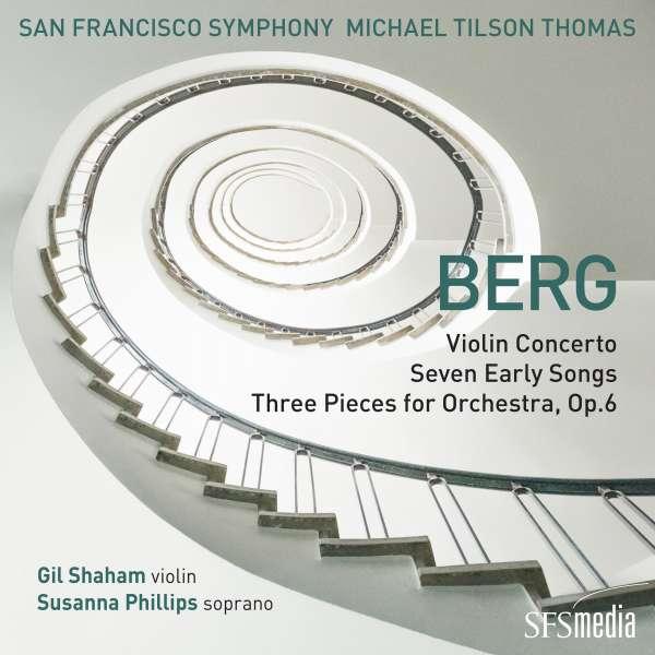 CD SAN FRANCISCO SYMPHONY / - BERG: VIOLIN CONCERTO/SEVEN EARLY SONGS/THREE PIECES FO
