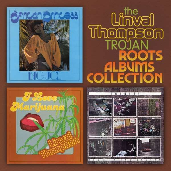 CD V/A - LINVAL THOMPSON TROJAN ROOTS ALBUM COLLECTION