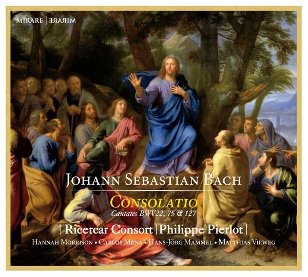 CD BACH, J.S. - CONSOLATIO