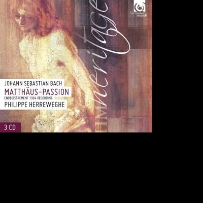 CD BACH, J.S. - MATTHAUS-PASSION BWV244