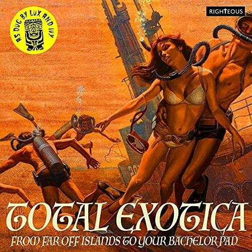 CD V/A - TOTAL EXOTICA - AS DUG BY LUX AND IVY