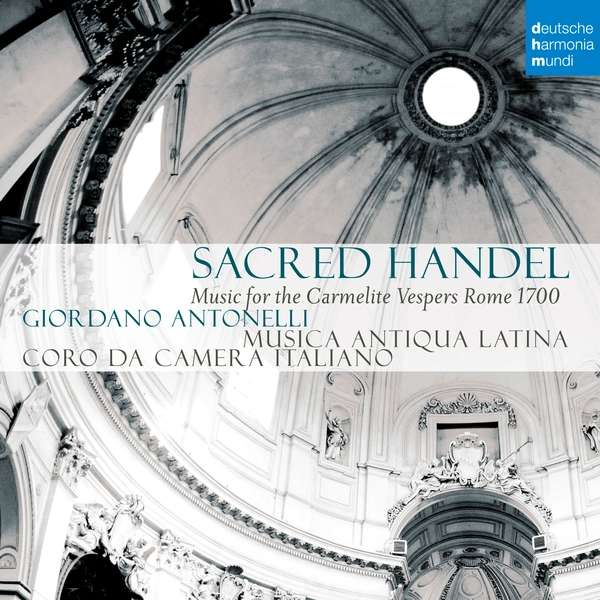 CD MUSICA ANTIQUA LATINA - Sacred Handel - Music for the