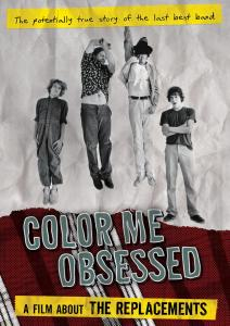 DVD REPLACEMENTS - COLOR ME OBSESSED: A FILM ABOUT THE REPLACEMENTS
