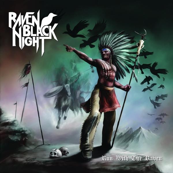 CD RAVEN BLACK NIGHT - RUN WITH THE RAVEN
