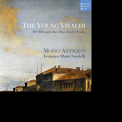CD VIVALDI, A. - The Young Vivaldi