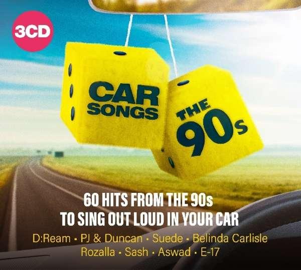 CD V/A - CAR SONGS - THE 90`S