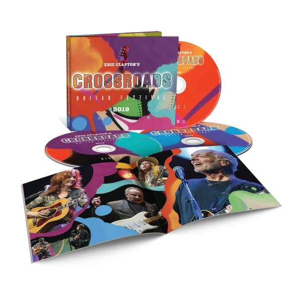 Eric Clapton - CD Eric Clapton's Crossroads Guitar Festival 2019