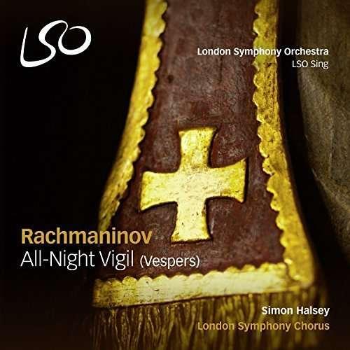 CD RACHMANINOV, S. - ALL-NIGHT VIGIL (VESPERS)