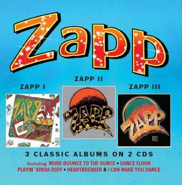 CD ZAPP - ZAPP I/ZAPP II/ZAPP III -3 CLASSIC ALBUMS ON 2CD