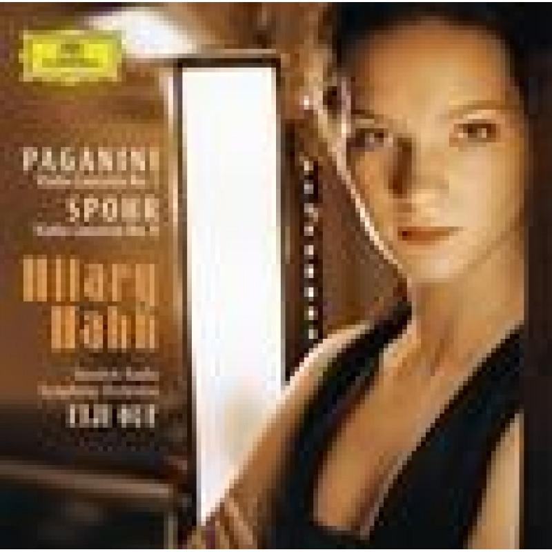 CD HAHN/SWEDISH RAD.SYMF./OUE - Mozart: Houslové koncerty 1, 8