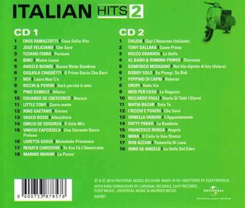 CD V/A - ITALIAN HITS VOL.2: VIVA ITALIA!
