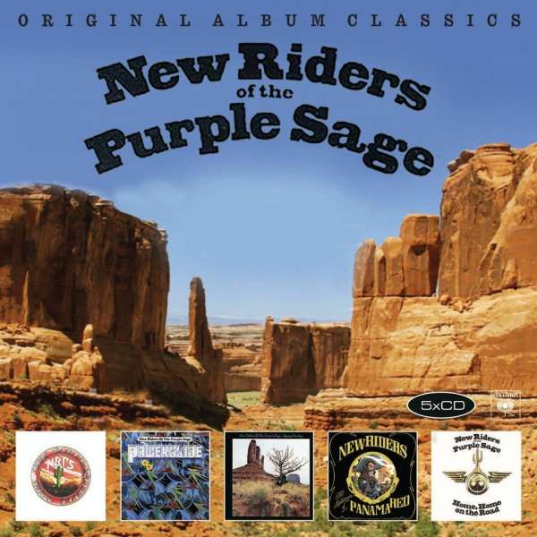 New Riders of the Purple - CD ORIGINAL ALBUM CLASSICS