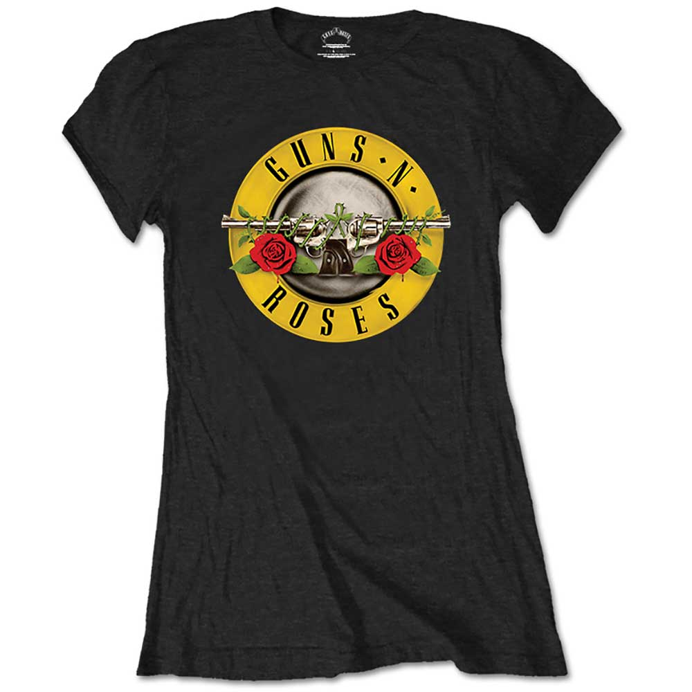 Guns N' Roses - Tričko Classic Logo - Žena, Čierna, M