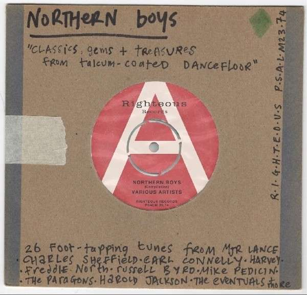 CD V/A - NORTHERN BOYS: CLASSICS GEMS AND TREASURES FROM TALCUM