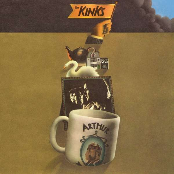 The Kinks - CD ARTHUR OR THE DECLINE AND FALL OF THE BRITISH EMPIRE