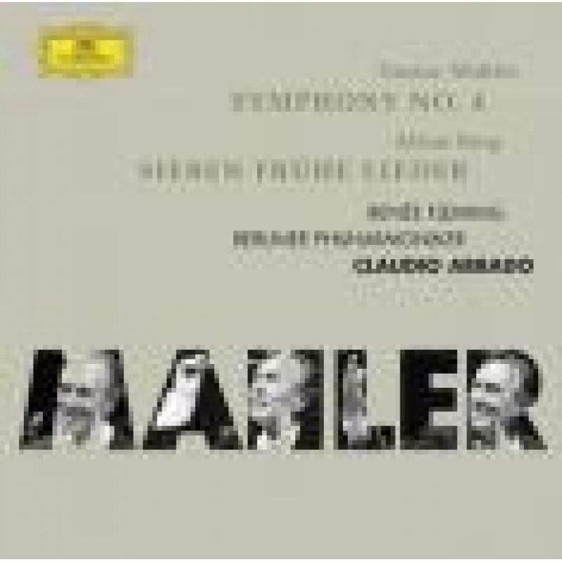 CD FLEMING/ABBADO/BPH - Mahler: Symfonie č.4 * Berg: Sedm raných písní