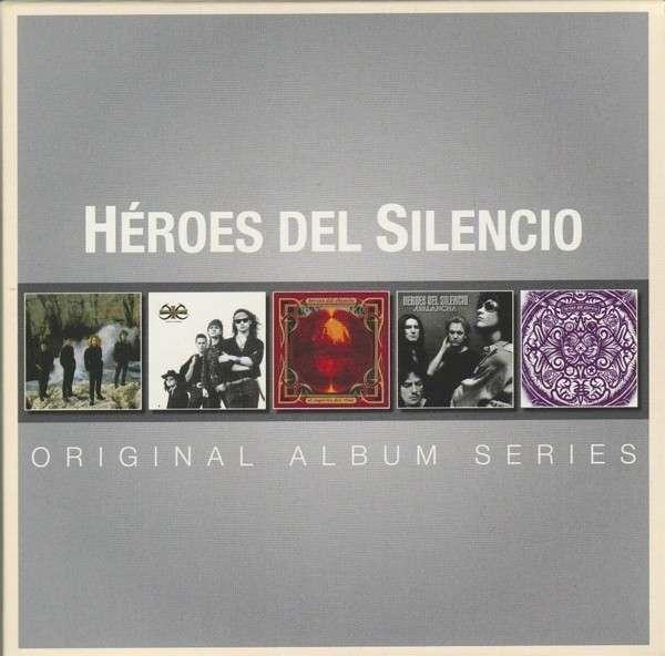 CD HEROES DEL SILENCIO - ORIGINAL ALBUM SERIES