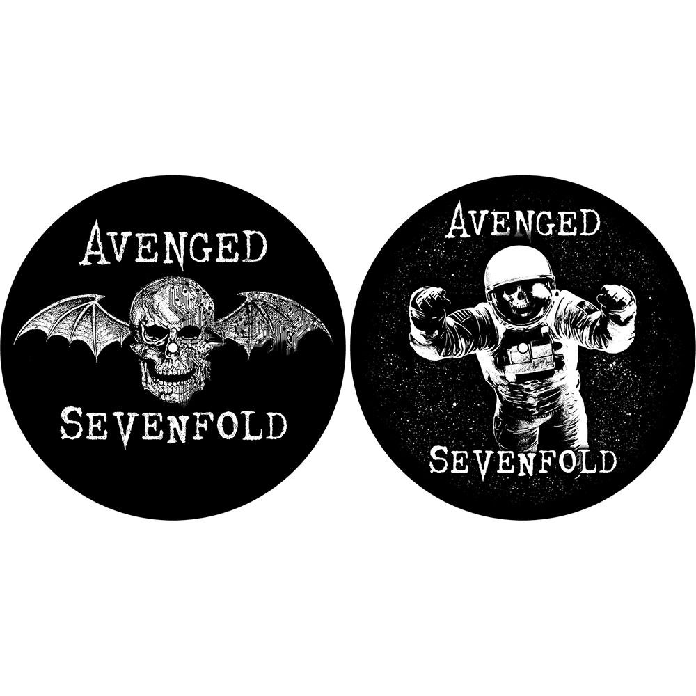 Avenged Sevenfold A7X - Podložka pod vinyl Death Bat / Astronaut