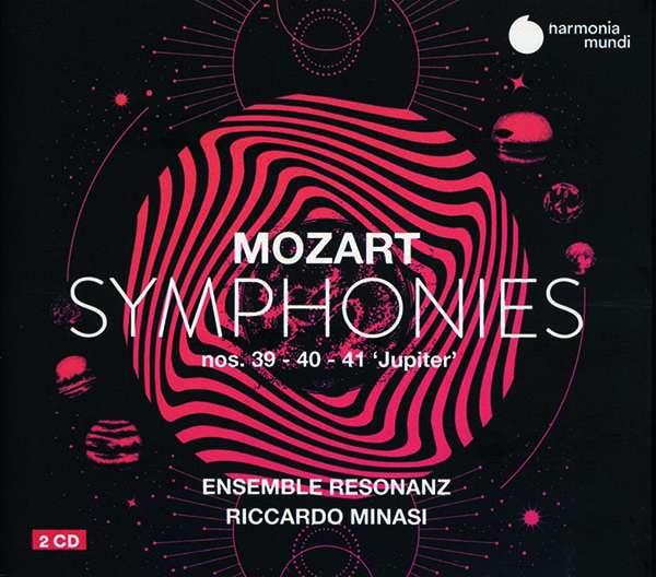 CD MOZART, W.A. - SYMPHONIES 39-40-41 'JUPITER'
