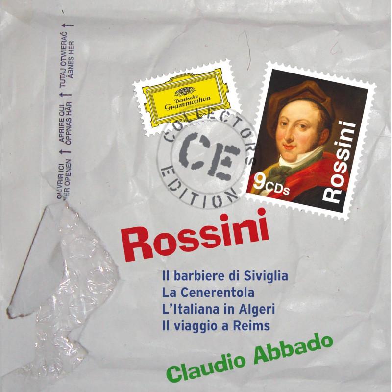 CD ABBADO CLAUDIO - Rossini: Lazebník sevilský/Popelka/ Italka v Alžíru aj.