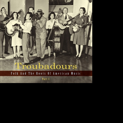 CD V/A - TROUBADOURS 1 (ENGLISH)
