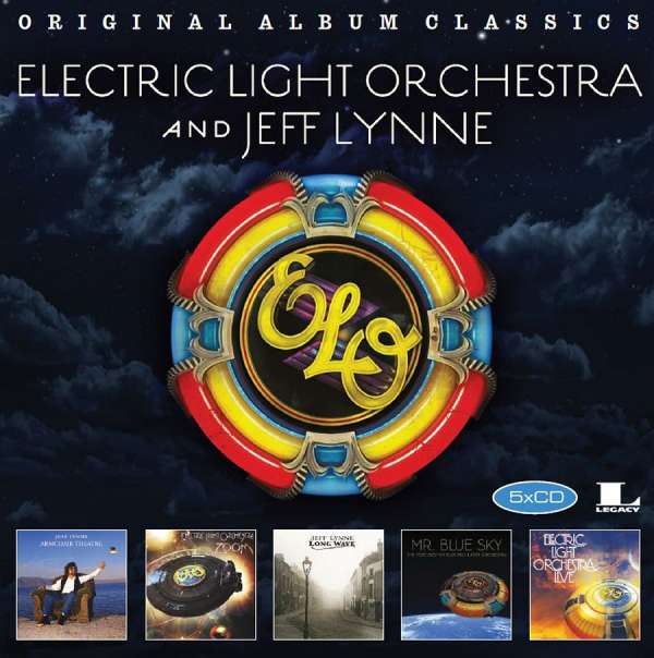The Electric Light Orches - CD ORIGINAL ALBUM CLASSICS 3