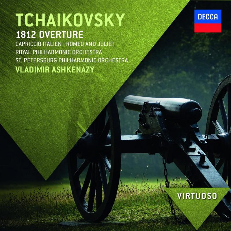 CD ASHKENAZY/ROYAL PHIL.ORCH. - ČAJKOVSKIJ: PŘEDEHRA 1812/ROMEO A JULIE