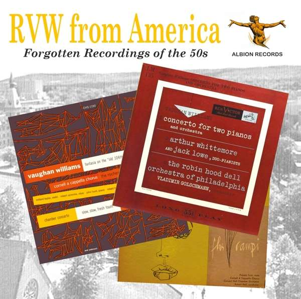 CD V/A - RVW FROM AMERICA: FORGOTTEN RECORDINGS OF THE 50'S