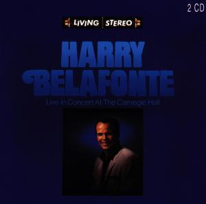 CD BELAFONTE, HARRY - Live In Concert At The Carnegi