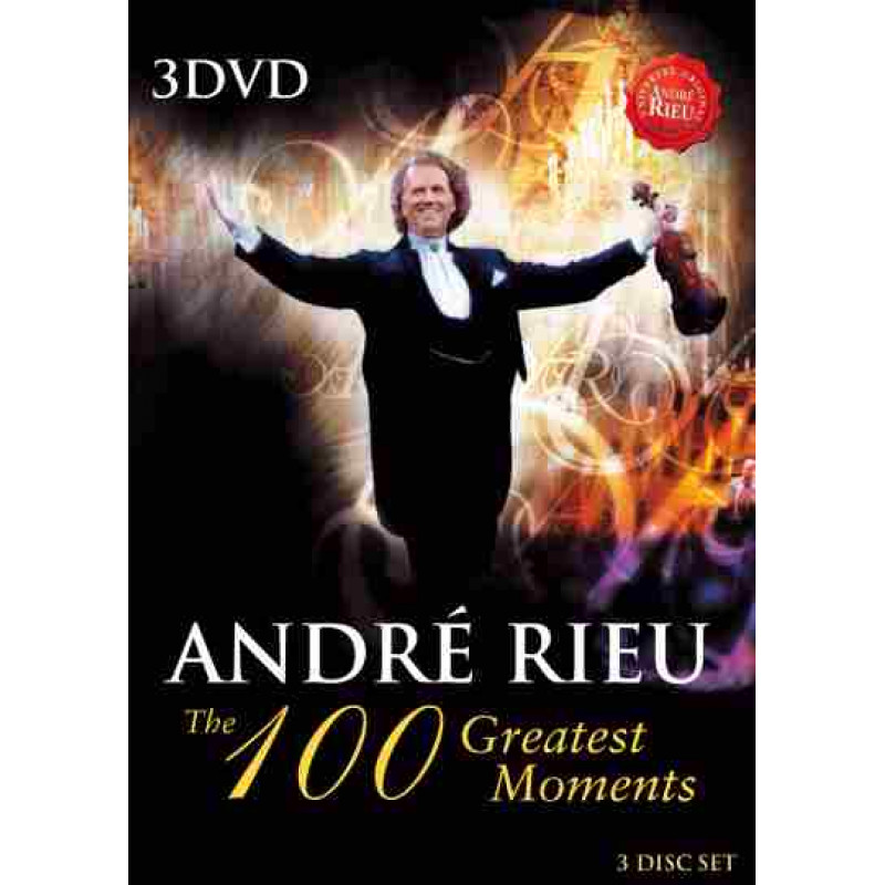 DVD RIEU ANDRE - 100 GREATEST MOMENTS