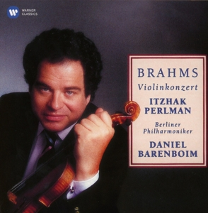CD PERLMAN/BARENBOIM/BERLINER PHILHARMONIKE - BRAHMS: VIOLIN CONCERTO