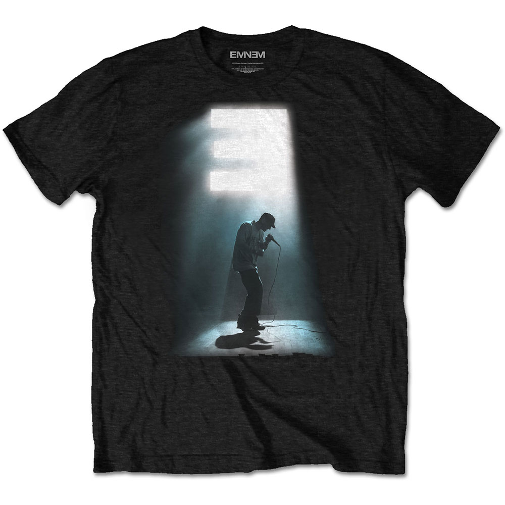 Eminem - Tričko The Glow - Muž, Unisex, Čierna, S