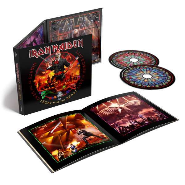 Iron Maiden - CD NIGHTS OF THE DEAD - LEGACY OF THE BEAST, LIVE IN MEXICO CITY