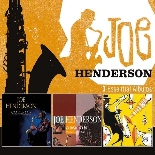 CD HENDERSON, JOE - 3 ESSENTIAL ALBUMS