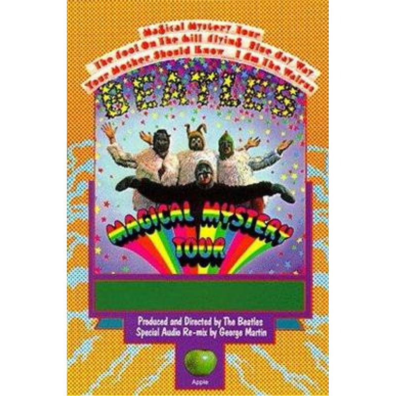 The Beatles - DVD MAGIC MYSTERY TOUR