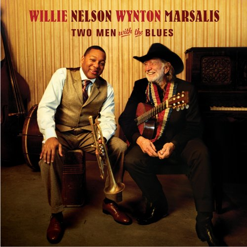 CD NELSON/MARSALIS - TWO MEN WITH THE BLUES